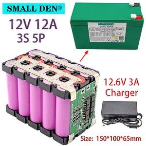 Image 2 - Batterie li ion 3S 18650 V 12ah 20ah 12.6 pour appareil de pulvérisation, alimentation ininterrompue avec BMS 20a équilibré + chargeur