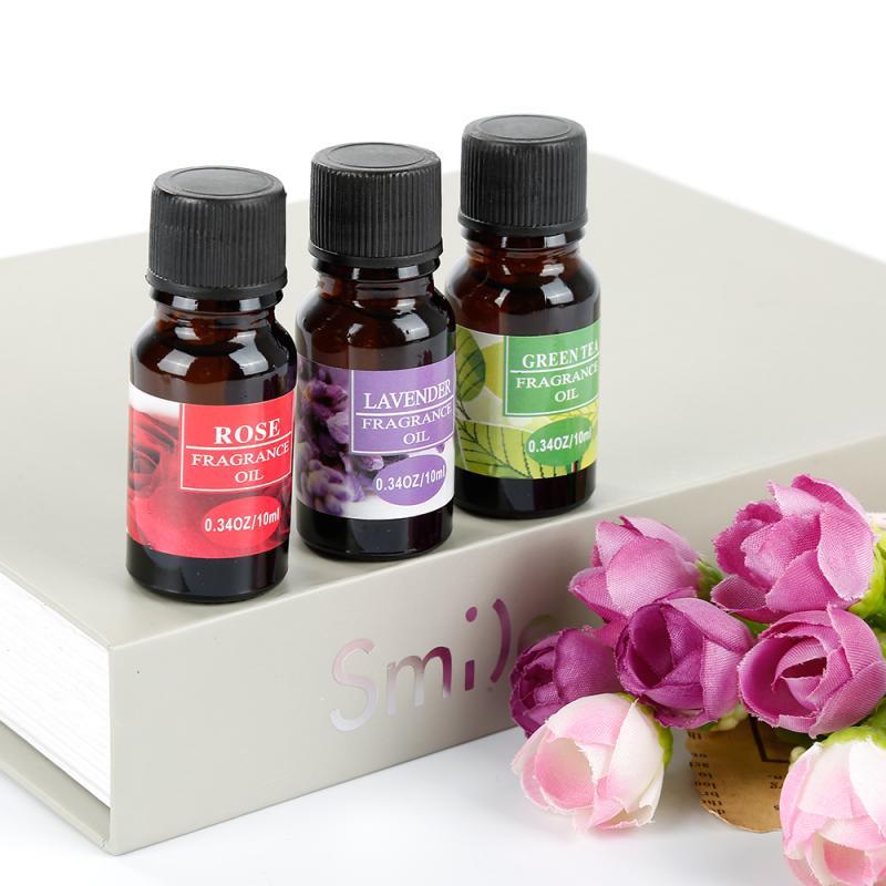 10ml Aromatherapie Ätherisches Öl Luftbefeuchter Blumen Fruchtigen Duft Luftbefeuchter Freshing Air Linderung Von Stress TSLM1