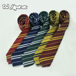 Child Adults Slytherin Tie College Style Cosplay Costume Necktie Scarf and Gloves Party Supplies