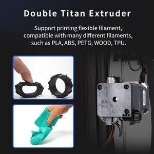 Image 5 - 2020 Tronxy podwójna wytłaczarka 2 w 1 out 3D drukarki wielokolorowy cyclops głowy zestawy DIY ładne Upgrade dla dwóch kolorów gradienty drukowania