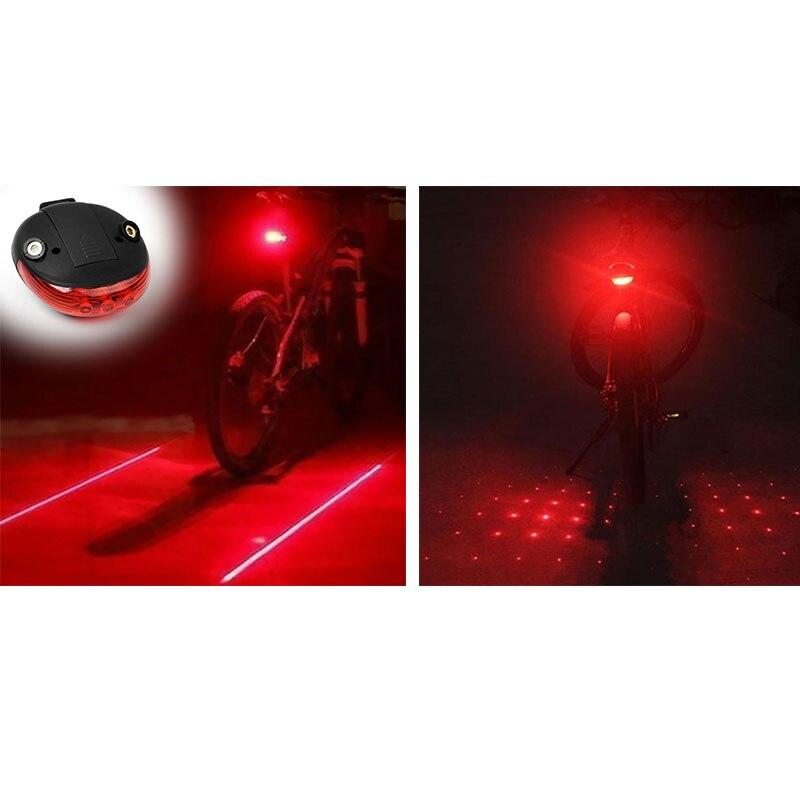 Bicycle Lights Waterproof Bike LED Rear Tail Light Warning Bicycle Light Lamp Safety Cycling Lights Flashing Bike Accessories