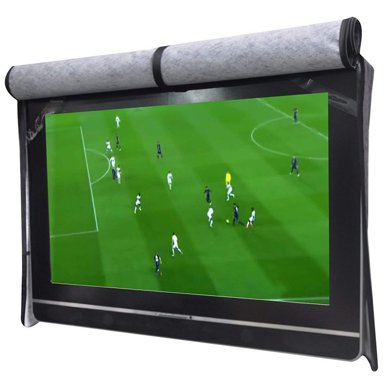 Practical <font><b>Outdoor</b></font> <font><b>TV</b></font> <font><b>Cover</b></font> Set Scratch Resistant Compatible With Standard Mounts And Stands 30