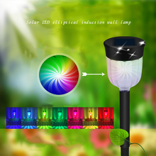 Solar lawn lamp flood light colorful outdoor waterproof lighting LED lamp villa garden park path lawn lamp christmas decoration outdoor solar lamp ip44 waterproof park garden decoration landscape light courtyard path lighting solar lawn lamp