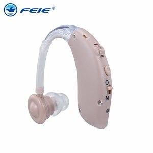 Image 2 - Aparat słuchowy USB z ładowarką S 25 medyczny aparat słuchowy regulacja głośności regulowany dźwięk głuchy sprzęt darmowa wysyłka