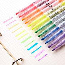 6 kolorów wybrał pióro artystyczne DIY Scrapbooking rzemiosło miękka szczotka do rysowania DIY Album fotograficzny Scrapbooking rzemiosło tworzenie kartek cheap 6 kolory Art Marker Pojedyncze Luźne