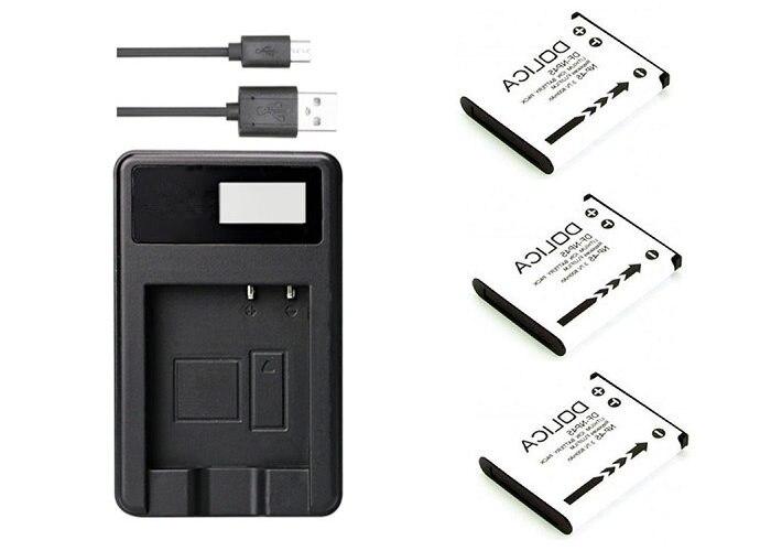 Batería CARGADOR PARA Olympus fe-320 fe-350 fe-4000