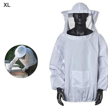 Beekeeping Clothing Protective Top with Face Mask Anti-Bee Farmers Beekeeping Suit Beekeepers Bee Suit Equipment блеск для губ top face top face to059lwexeg3