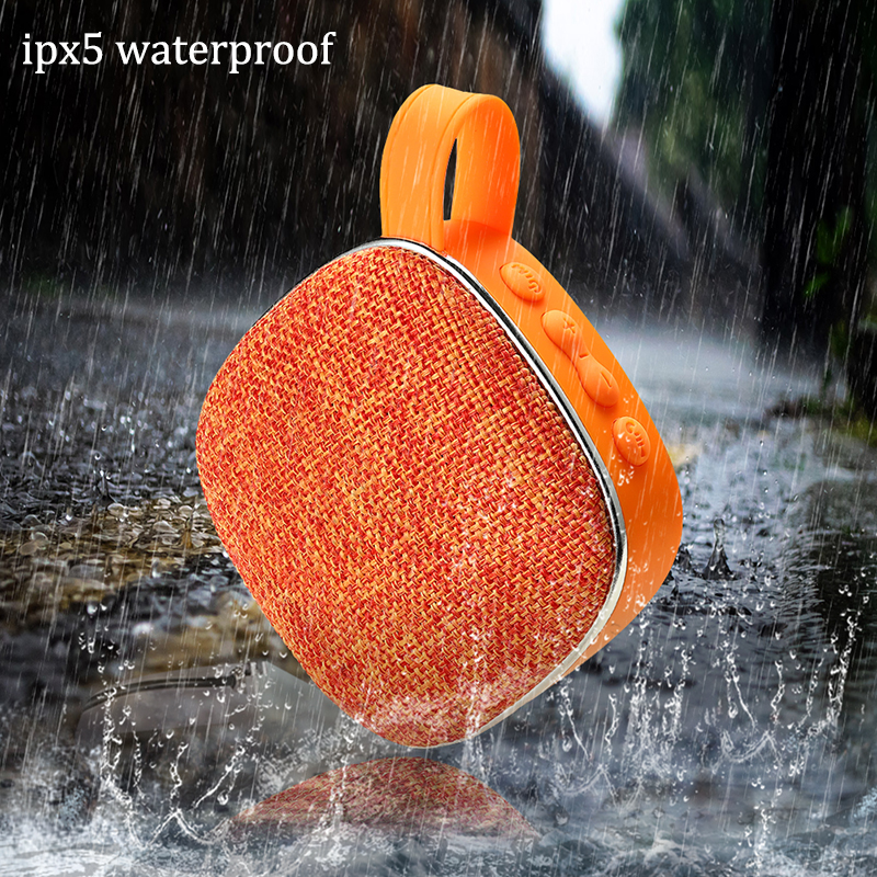 2019 LIGE New Bluetooth Outdoor Speaker Waterproof Portable Wireless Column Loudspeaker Box Support TF Card FM Radio Aux Input in Portable Speakers from Consumer Electronics