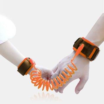 Kids Safety Harness Child Wrist Leash Anti-lost Link Practical Belt Walking Strap Parent-child Safety Protection Parts