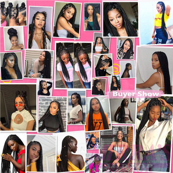 30inch Jumbo Braids Hair Extensions Braiding Hair Pre Stretched Ombre Synthetic Braid YAKI Texture 1/2/4/6/8 Pcs Mirra's Mirror 6
