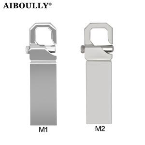 AIBOULLY USB Flash Drive 64GB Metal Pendrive 4GB High Speed USB Stick 32GB Pen Drive 16GB USB Flash