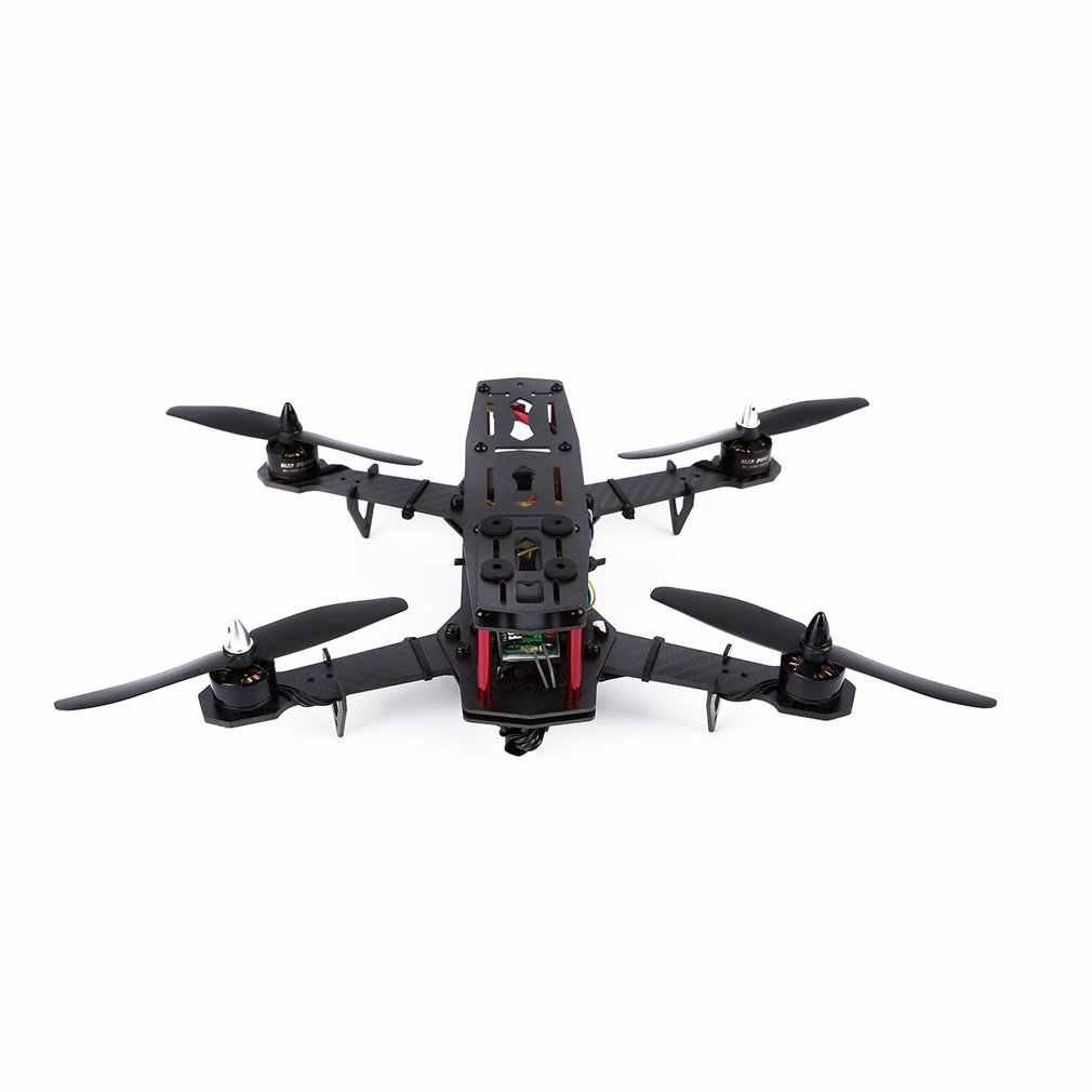 YKS fibra de carbono 250 cuadricóptero de mano izquierda acelerador RTF listo para volar con Control de vuelo y batería Lipo de 1500mAh