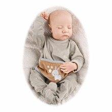 RBG 20 Inches Levi LoL Reborn Baby Doll Realistic Soft Full Vinyl Body Alive Bebe Birthday Gift Dolls For Children Girls