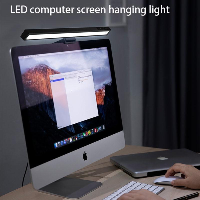 Lâmpada de mesa led monitor do computador tela pendurado lâmpada de leitura lâmpada de mesa proteção para os olhos led tela lâmpada de suspensão