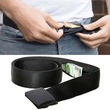 цены Travel Waist Belt Security Money Belt With Hidden Money Pocket Anti-Theft Wallet Unisex Waist Belt Unisex 1PC