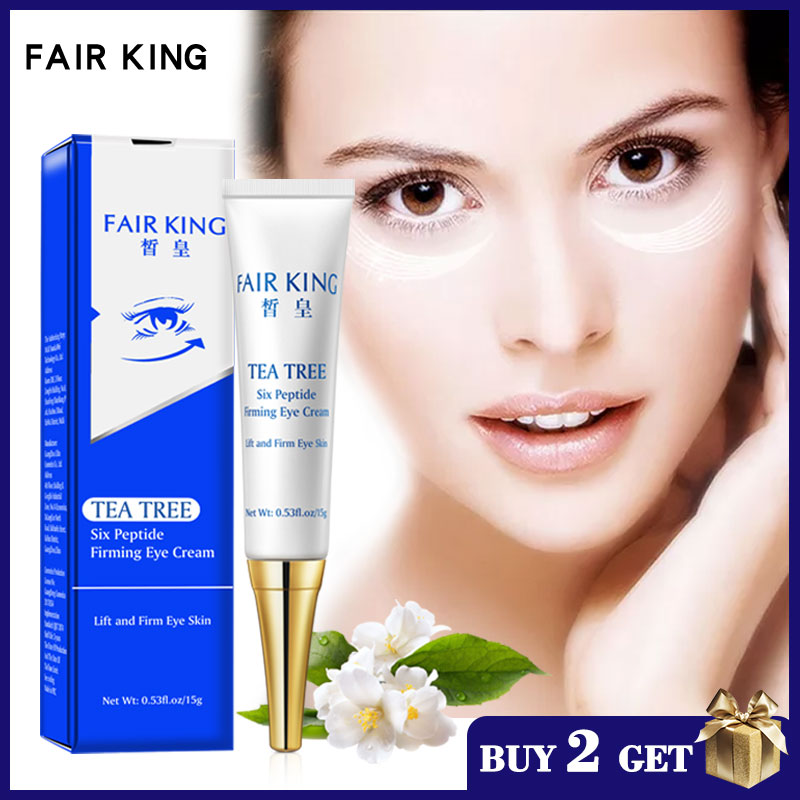 FAIR KING Six Peptide Eye Serum Anti-Wrinkle Anti-Age Remove Dark Circles And Fat Granules Against Puffiness And Bags Eye Care