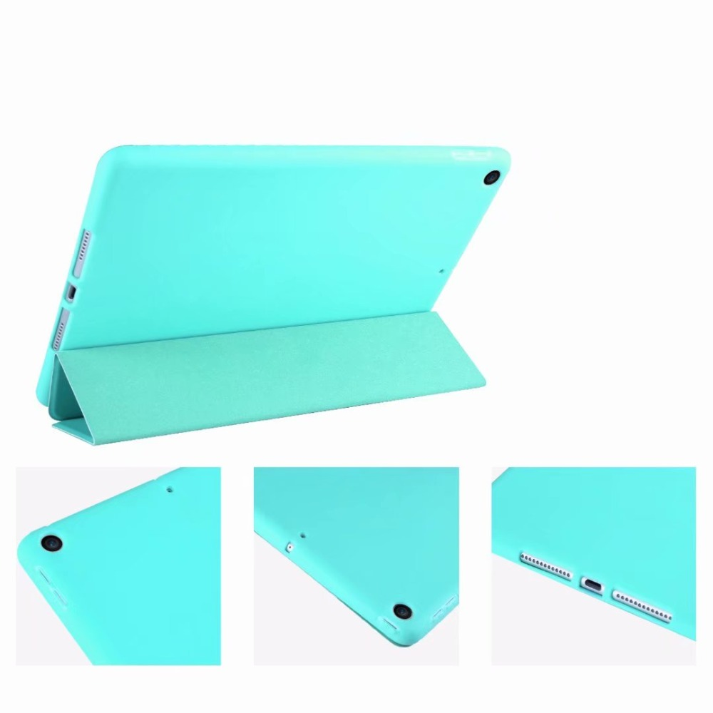 Cover TPU Soft Tri-fold For 2 Slim Case Tablet For light iPad 10.2 Smart 10 Case Ipad