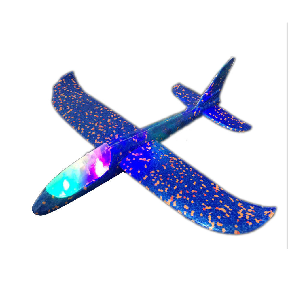 Hand Throw EPP AirplaneFoam Outdoor Launch Glider Plane Kids Toys 48 Cm Interesting Launch Throwing Inertial Model Gift Funny