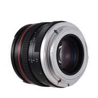 Lente de cámara de 50mm f/1,4 USM, lente de la cámara de enfoque de baja dispersión para Canon 100D 200D 350D