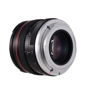 Image 1 - 50mm f/1.4 מצלמה עדשת USM גדול צמצם סטנדרטי האנשה פוקוס מצלמה עדשת פיזור נמוך עבור Canon 100D 200D 350D
