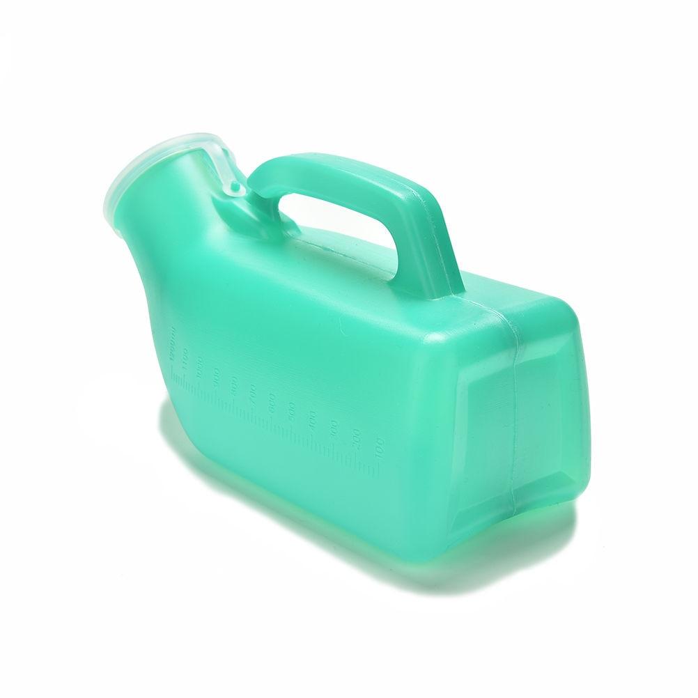 1200ml Portable Washable Unisex Mobile Toilet Car Travel Camp Urine Urination Handle Urine Bottle Urinal Storage Health Care
