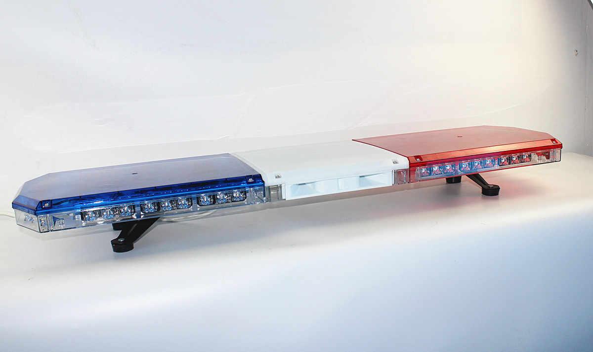 Светодиодный световой сигнал Coxswain 10326E для полицейской пожарной машины, скорой помощи, 54*1 Вт, светодиодный световой сигнал аварийного предупреждения с сиреной 100 Вт