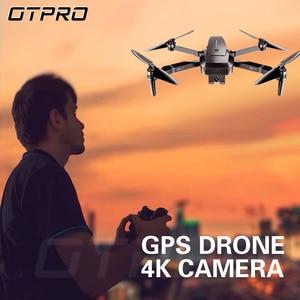 Image 1 - OTPRO dron ミニドローン fpv hd 4 18k gps rc ヘリコプター wifi カメラドローン profissional brinquedos のおもちゃ vs fimi x8 se a3