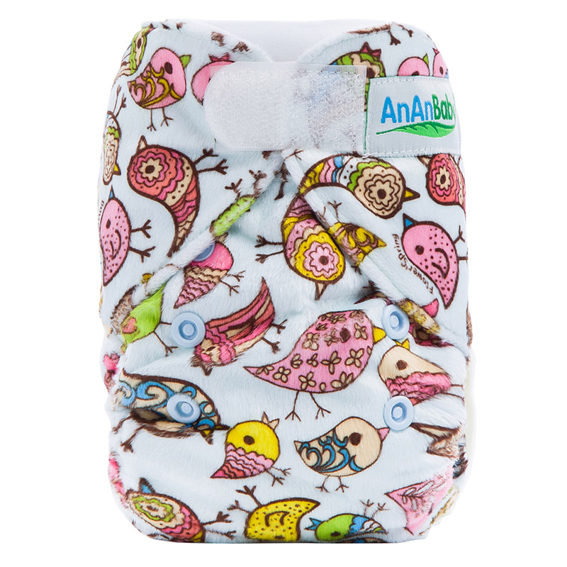 Adjustable Baby Cloth Nappies Printed Cloth Diapers Newborn Baby Cloth Organic Cloth Nappies NBD8
