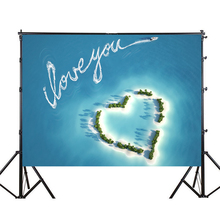 150x210cm Heart Patern Party Backdrop Photography Backgroud for Wedding Baby Birthday Party  wall Decoration Photo Studio Props yeele cartoon leaves monkey animals baby birthday party photography background customized photographic backdrop for photo studio