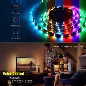 Image 5 - Tuya Nhà Thông Minh Tự Động Hóa Nhà Thông Minh LED Dây Mờ Chống Nước Linh Hoạt RGB Dải Đèn Hoạt Động Với Alexa Google Home
