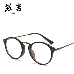 Direct Supply TR90 New Style Optical Glasses Retro Fashion Eyeglasses Fixing Device And Women Fashion Universal Frame 1653