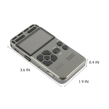 Voice-Activated Recording One-Button Record 8G Capacity 3