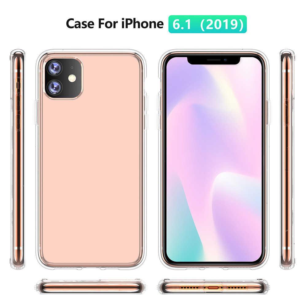 מקרה רך TPU פגוש שיפוע צבע עבור IPhone 11 XI 5.8 אינץ 2019 עמיד הלם כיסוי עבור IPhone XIR 6.1 XI מקסימום 6.5 מקרה יוקרה