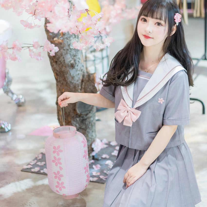 Uniforme de la escuela japonesa para mujeres de la escuela secundaria de las muchachas