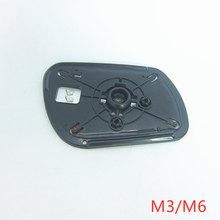 Vidro espelhado para porta de carro, com função aquecida para mazda 3 2003-2010 mazda 6 2003 2004 2005 2006 2007 2008