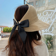 Sun-Hats Beach-Cap Uv-Protected-Hat Foldable Female Outdoor Fashion Women Summer Brim
