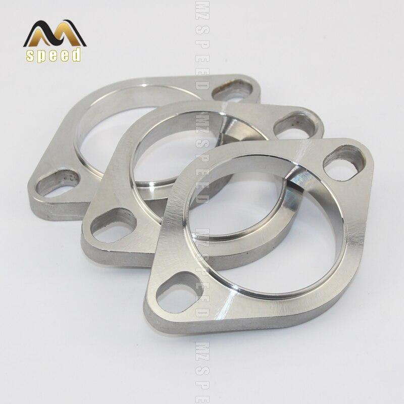 Accessori Universale in acciaio inox silenziatore di scarico flangia di scarico tubo di collegamento 51 millimetri 63 millimetri 76 millimetri comune