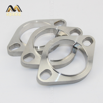 Accessories Universal Stainless Steel Exhaust Muffler Flange Exhaust Pipe Connection 51mm 63mm 76mm Joint