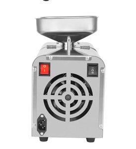Image 4 - 110v/220v調整温度自動コールドプレスオイル機、オイルコールドプレス機、ヒマワリの種オイル抽出、オイルプレス