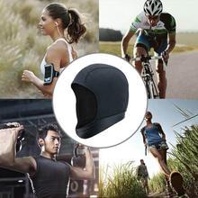 Sports Fitness Skull Cap Moisture Wicking Cycling Helmets Headgear Liner Hat Bea