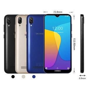 Image 3 - DOOGEE X90 cep telefonu 6.1 inç 19:9 Waterdrop LTPS ekran Smartphone dört çekirdekli 16GB ROM 3400mAh çift SIM 8MP + 5MP WCDMA Android gitmek