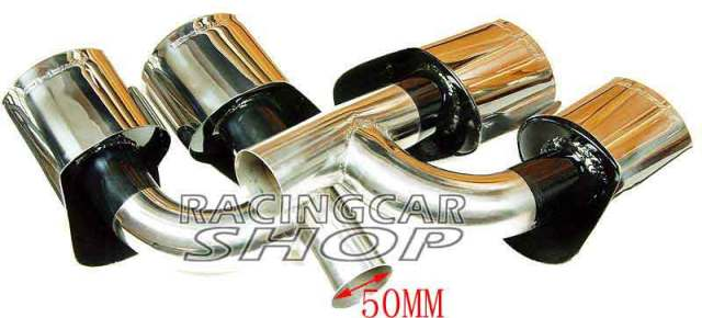 Exhaust tips for Mercedes Benz AMG S65 S63 C-class E-class S-class M-class W221 W212 W204 W219 W218 W208 W209 W164 R171 R1 M091W 6