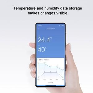 Image 5 - Thermomètre Bluetooth dorigine XIAOMI Mijia 2 thermomètre hygromètre numérique électrique intelligent sans fil fonctionne avec lapplication Mijia