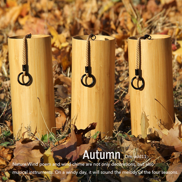 BATESMUSIC Wind Chimes Windchime Windbell for Outdoor Garden Patio Home Decoration Zen Meditation Relaxation Chord 2