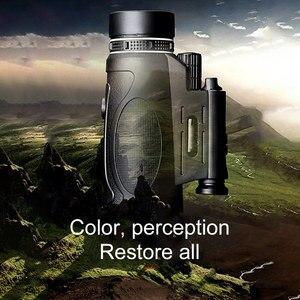 Image 3 - Télescope monoculaire professionnel, Vision nocturne, pour lobservation des oiseaux, accessoires dextérieur étanches, 12x50