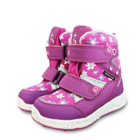 NEW 1pair waterproof Snow Boots Winter Children's Shoes warm boots , 30 degrees, inner wool Fashion Girl Boots