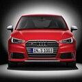 Для Audi A1 RS1 SLine хромированная рамка серая ПЕРЕДНЯЯ РЕШЕТКА решетка хромированная эмблема для audi A1 S1 RS1 SLine 2010 ~ 2015