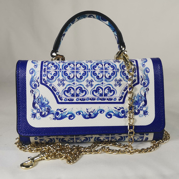 цены Vers handtas vierkante tas blauw blauw en wit porselein vierkante wilde tas vierkante handtas mini tas elegant wallet phone