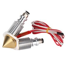Brass Diamond Extruder Reprap Hotend E3D-V6 Heatsink 3 IN 1 OUT Multi Nozzle Extruder 3D Printer Kit Multi-color Nozzle Set 3d printer new 3 colors 3 in 1 out extrusion compatible with e3d bulldog and mk8 printer remote extruder for 1 75mm filament