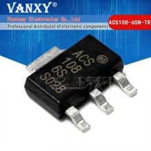 10PCS ACS108 6SN TR SOT223 0.8A 600V SOT SOT 223 ACS108 6SN ACS108 108 6S ACS108 6S